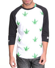 Filthy Dripped - Westside Weed Leaf Raglan