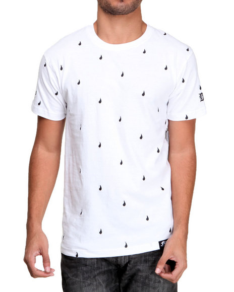 Filthy Dripped - Men White Drips T-Shirt
