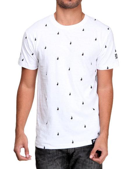 Filthy Dripped - Men White Drips T-Shirt