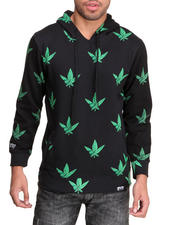 Filthy Dripped - Westside Weed Leaf Hoodie