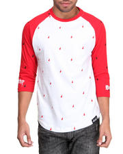 Men - Drips Raglan
