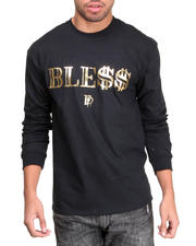 Filthy Dripped - Ble$$ Foil L/S T-Shirt