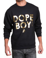 Filthy Dripped - Dope Boy Foil Crew Sweatshirt