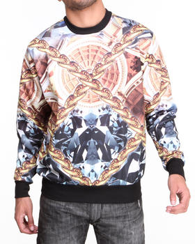 Buyers Picks - Diamond N Chains Crewneck Sublimation Sweatshirt
