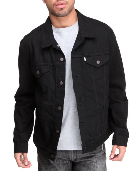 Levi's Black Relaxed Trucker Black Jacket