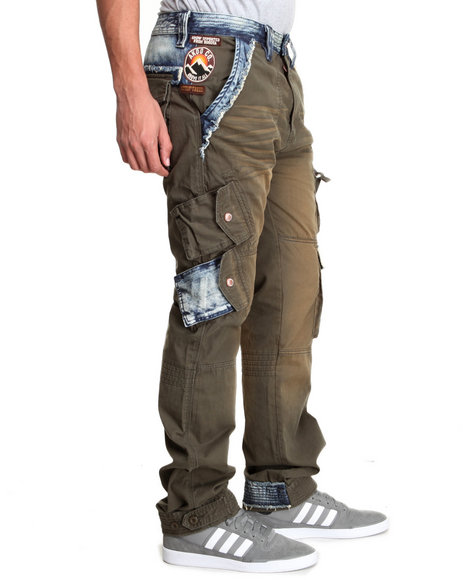 Akoo - Men Olive Rescue Cargo Pants