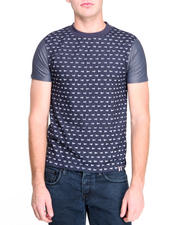 Men - Ditsy Skull Print T-Shirt