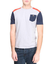 Bellfield - Contrast Shoulder Panel T-Shirt