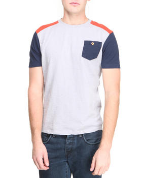 Bellfield - Contrast Shoulder Panel T-Shirt