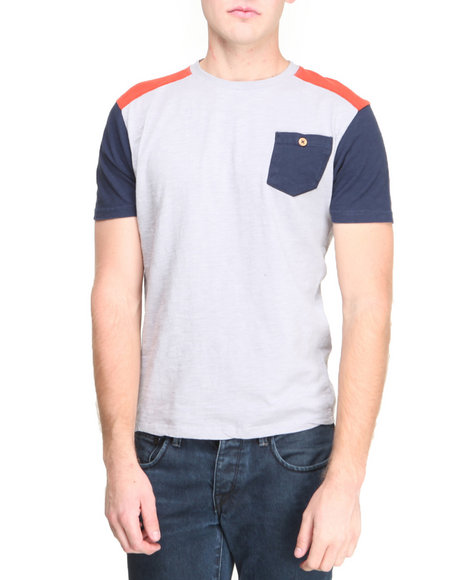 Bellfield Grey T-Shirts
