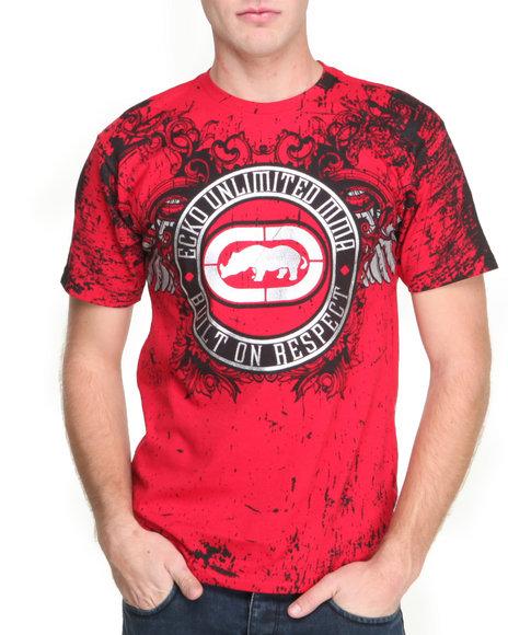 Ecko Red Built-On Respect T-Shirt