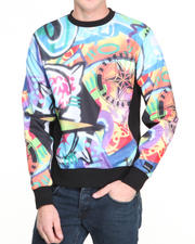 Men - Graffiti Crewneck Sweatshirt