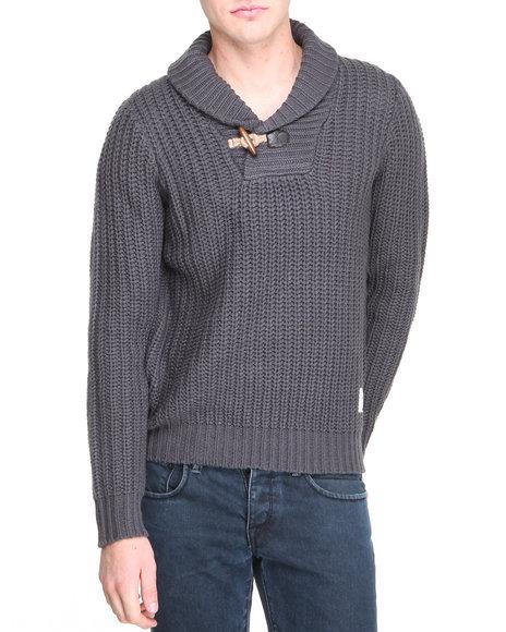 Shawl Neck Sweater Men