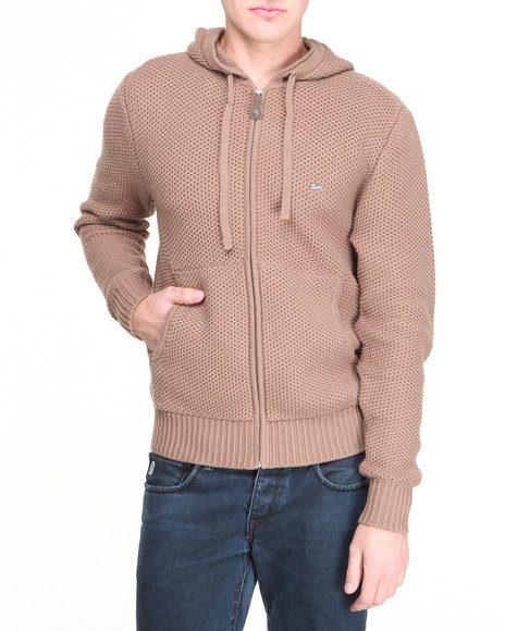 A Tiziano Brown Scott Hoodie