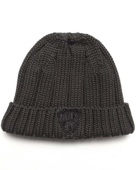 Adidas Brooklyn Nets Cuffed Knit Hat Grey