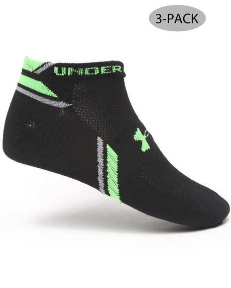Under Armour Phantom Socks (3 Pair) Green