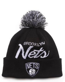 Mitchell & Ness - Brooklyn Nets NBA Script Cuffed Knit Hat
