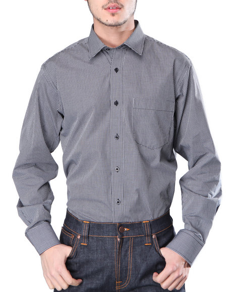 Djp Outlet Black Button-Downs