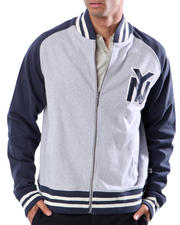 Outerwear - Blue Marlin NEW YORK TWO TONE FLEECE JACKET
