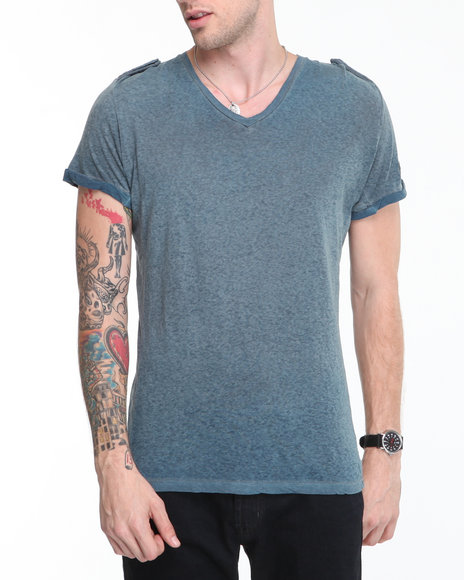 Blue,Grey T-Shirts