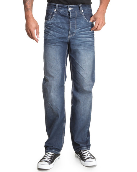 Parish Dark Blue Parish Denim Jeans