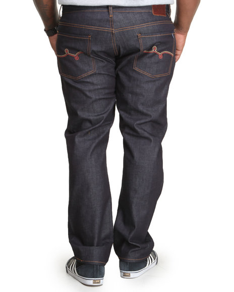 LRG - Men Raw Wash Track & Feel True - Straight Denim Jeans (B & T)