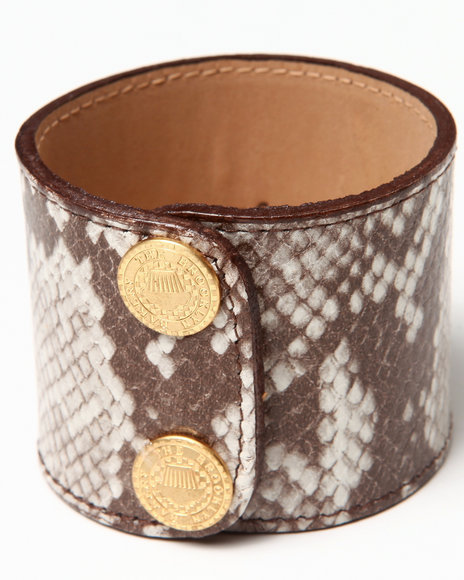 Djp Outlet Women Python Cuff Cream