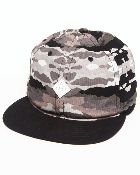 Altamont Men Paint By Camo Ball Cap Black