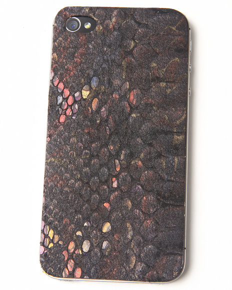 Djp Outlet Women Buried Treasure Premium Leather Iphone Sticker Multi