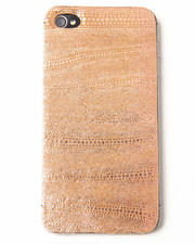 Electronics - Peach Lust Premium Leather Iphone Sticker
