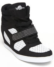 Apple Bottoms - Brayden Perforated Wedge Sneaker