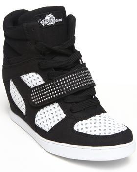 Apple Bottoms - Brayden Perforated Wedge Sneaker