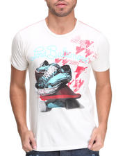 DJP OUTLET - Lord Baltimore All Skate Flocked Tee