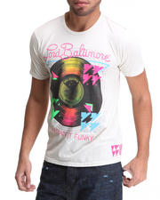 Men - Lord Baltimore Keepin it Funky Flocked Tee