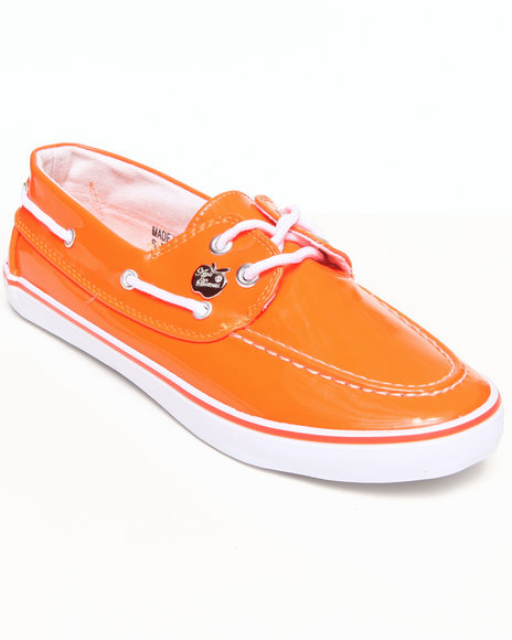 Apple Bottoms - Women Orange Beon Boat Sneaker - $7.99