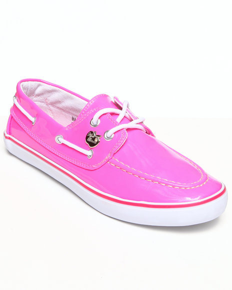 Apple Bottoms - Women Pink Beon Boat Sneaker - $8.99