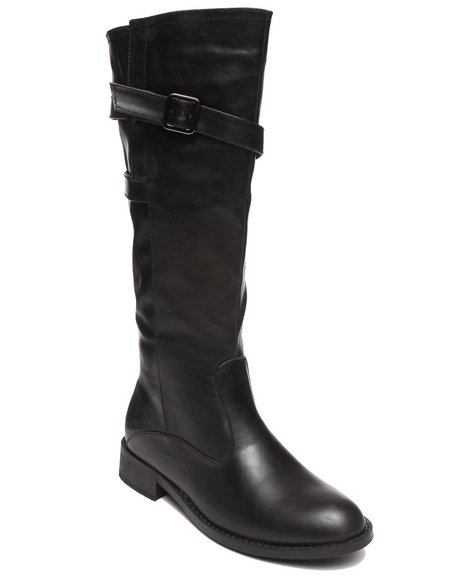 Fashion Lab - Women Black Cybil Romantic Boot