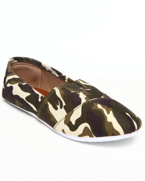 Apple Bottoms - Women Camo Flower Casual Canvas Camo Sneaker - $9.99