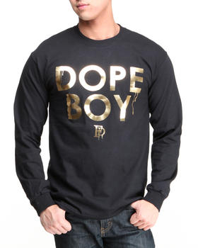Filthy Dripped - Dope Boy Foil L/S T-Shirt