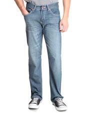 Basic Essentials - American Shore Whisker Slim Straight Denim Jeans