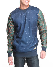 Men - Navy POX Crewneck Sweatshirt