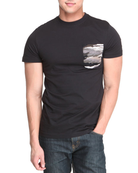 Altamont Black,Camo Paint By Camo Pocket S/S Tee