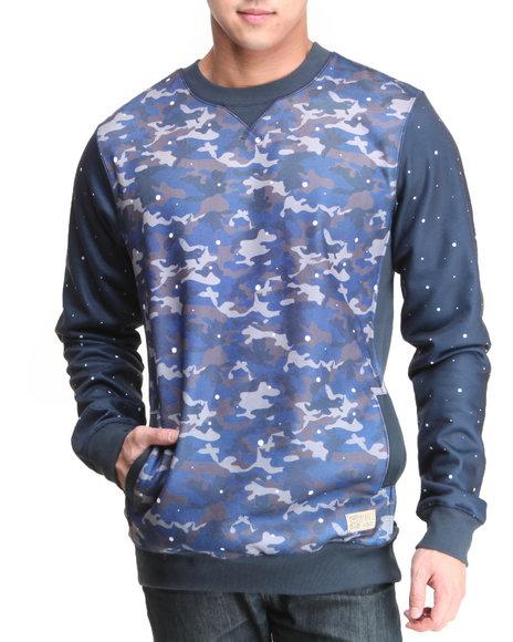 Entree Camo Camby Pox Crewneck Sweatshirt