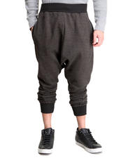 Men - Two Tone Jogger Sweatpants