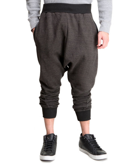Entree Black Two Tone Jogger Sweatpants