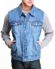 Men - Levels Denim Vest