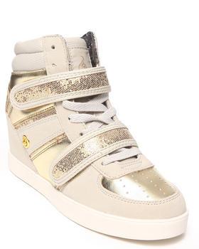 Baby Phat - Kitty Metallic Trim Wedge Sneaker