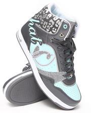 Footwear - Lana  Heel Logo Cheetah Trim Sneaker