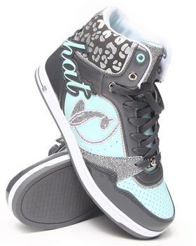 Baby Phat - Lana  Heel Logo Cheetah Trim Sneaker