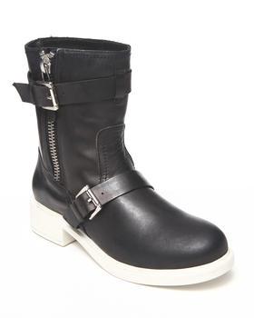 DJP OUTLET - Pour La Victoire Montero Leather Bootie